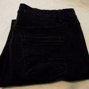 SANTANA JEANS Womens, Size 12, blackwash